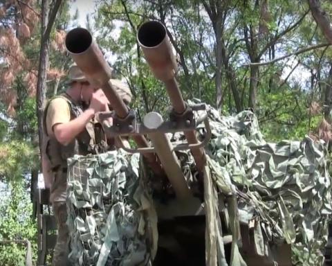 На Донбассе силы АТО сбили беспилотник-разведчик, опубликовано видео