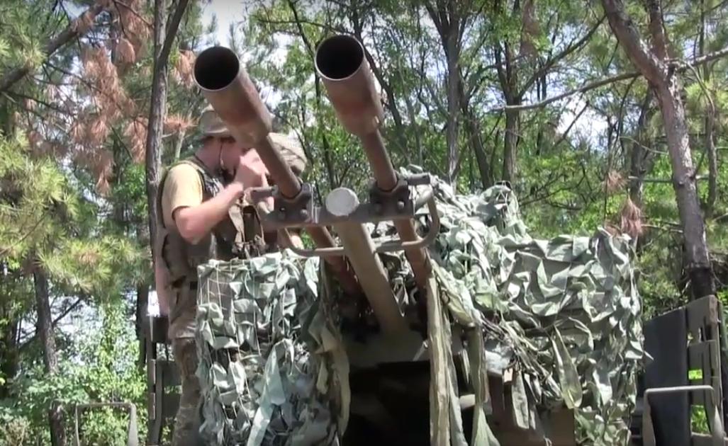 ВЗоне АТО сбит шпионский беспилотник боевиков