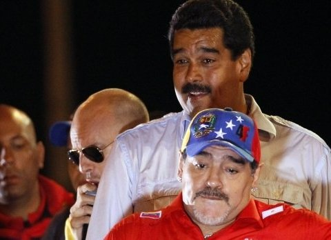 Фанат Путина Марадона заявил о готовности воевать за Венесуэлу