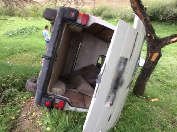 На Закарпатті загинув водій, злетівши у прірву