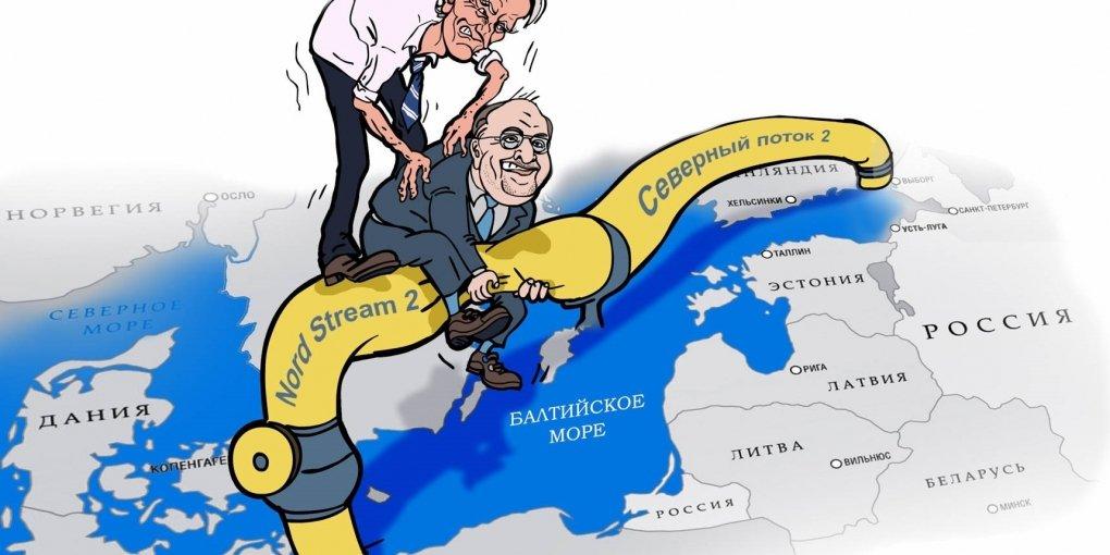 А Данія – проти: Північний потік-2 знову опинився під загрозою