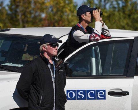 В ОБСЕ заметили автобусы с украинскими детьми на границе с Россией