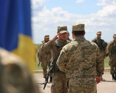 Міноборони преміювало усіх військослужбовців у зоні АТО