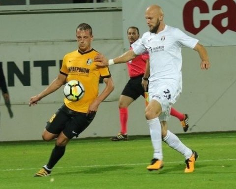 «Александрия» обыгрывает «Астру» и проходит в следующий раунд Лиги Европы