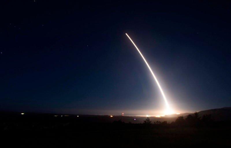 США успішно запустили балістичну ракету, оприлюднено відео