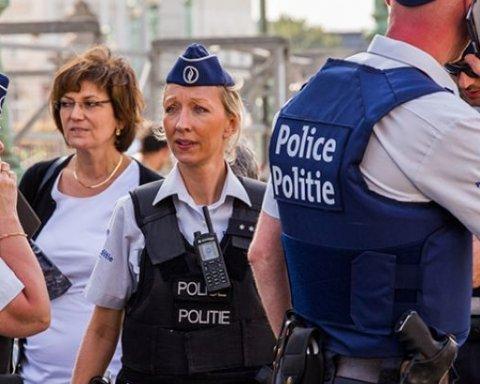 Из-за массовой драки между беженцами, полиция Брюсселя перекрыла центр города