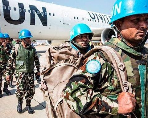 В МЗС України назвали, хто блокує введення миротворців ООН на Донбас