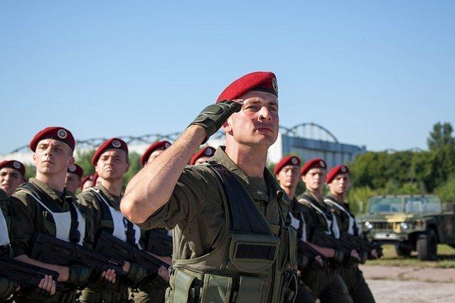 УКиєві відбулася перша репетиція військового параду доДня Незалежності