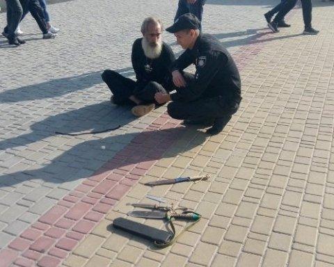 У Кіровоградській області чоловік зробив спробу принести себе у жертву, є фото