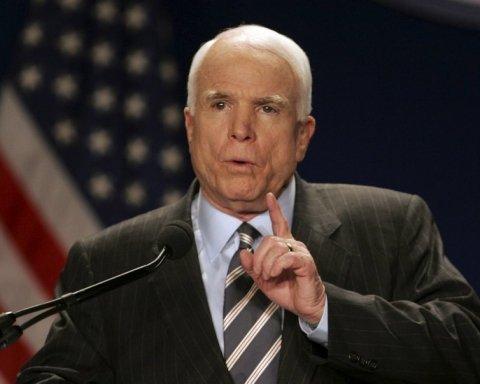 Маккейн жорстко відповів Трампу щодо відносин з Росією