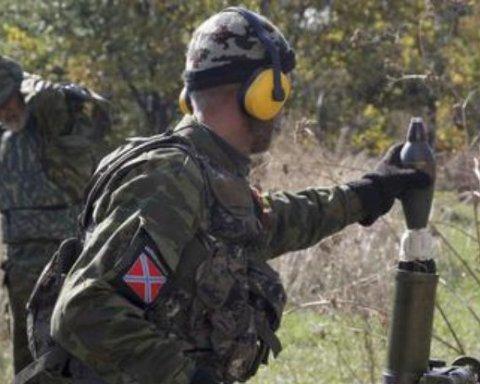 В зоне АТО во время обстрела получил ранение боец ВСУ