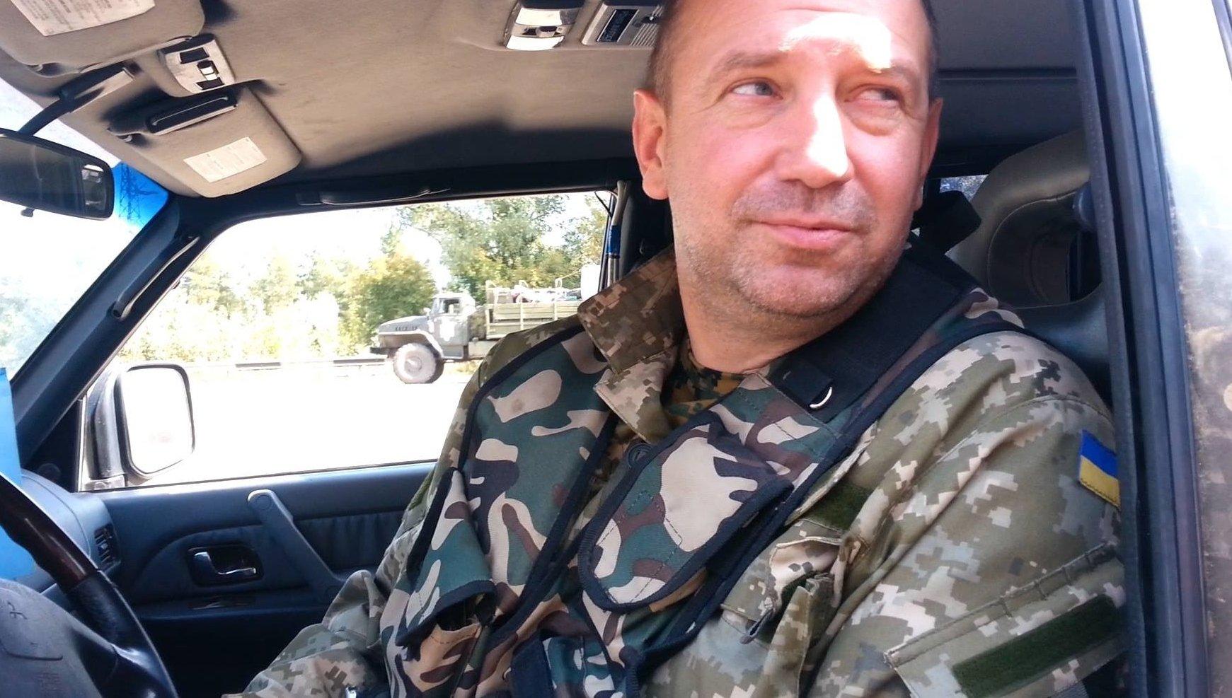 Изавтомобиля Мельничука вышел человек ивыстрелил ввоздух— Стрельба наТроещине