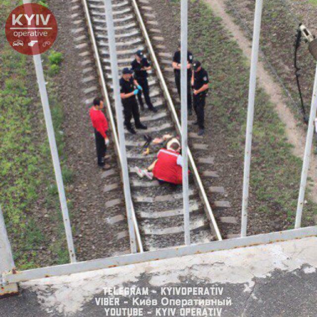 В Киеве самоубийца прыгнул с моста