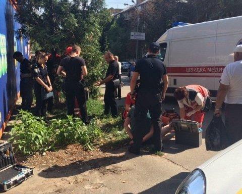 У Києві ДТП завершилося стріляниною, є фото