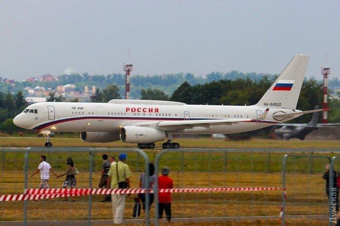 Стало відомо про дивний інцидент з літаком Путіна в небі над окупованим Кримом
