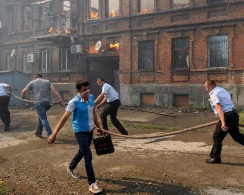 Пожежа в Ростові-на-Дону: кількість постраждалих зросла
