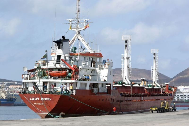 ВИспании арестовали судно сукраинцами и18 тоннами гашиша наборту