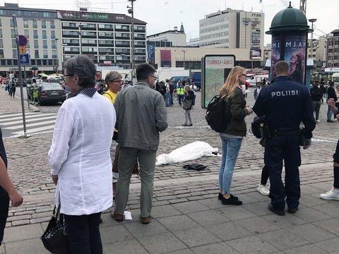 Финская полиция сообщила подробности о террористе из Турку
