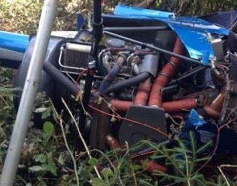 В Івано-Франківській області розбився літак, загинула людина
