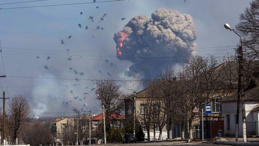 УБалаклії новий вибух наскладі боєприпасів: поранений військовий