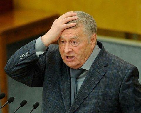 Жириновский закатил истерику на росТВ из-за «базы США» в Украине, видео
