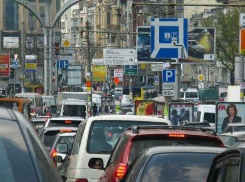 Киян попереджають про мега-затори на дорогах