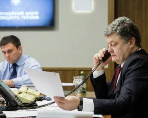 Климкин озвучил подробности разговора Трампа с Порошенко