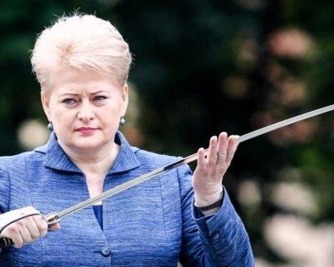 """Президент Литви заговорила """"солов'їною"""" на День Незалежності України"""