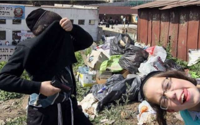 Хасиды превратили Умань на горы из мусора (фото)