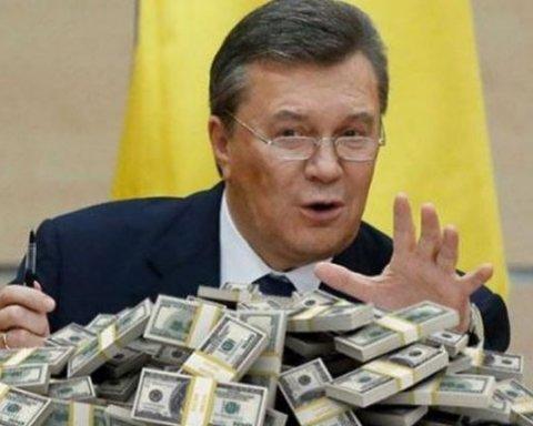 »Ощадбанк» обязали предоставить информацию о сумме на счетах экс-президента Януковича