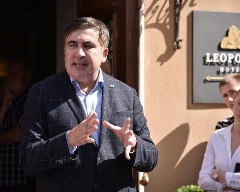Сакварелидзе заявил о задержания участников «прорыва Саакашвили» и созвал львовян на протест