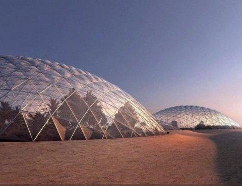 """""""Марсіанське місто"""" з'явиться у Дубаї (фото)"""