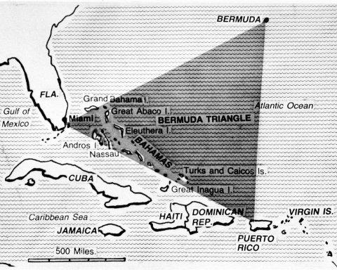 В Бермудском треугольнике нашли потерянный город (фото, видео)