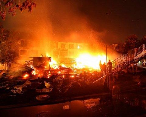 Смертельный пожар в одесском лагере: названы шокирующие подробности