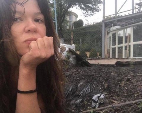 Дом известной певицы в Киеве пострадал от стихии (фото)