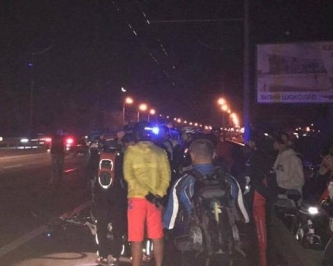 Трагедия на Московском мосту в Киеве: «Вольво» на полной скорости сбил велосипедистку