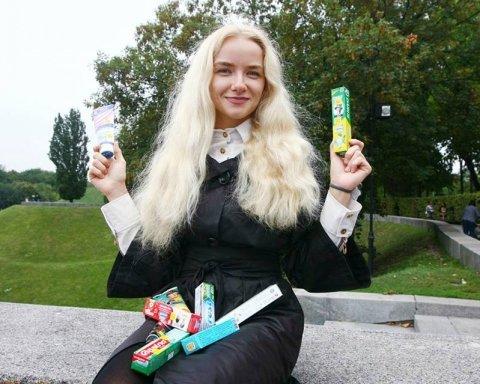 Рекордную коллекцию зубных паст собрала украинка (фото)