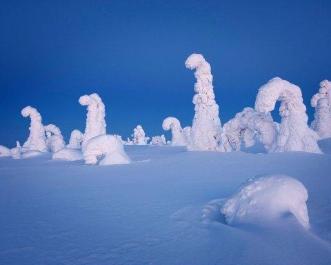 Загадочные фигуры Арктики очаровали сеть (фото)
