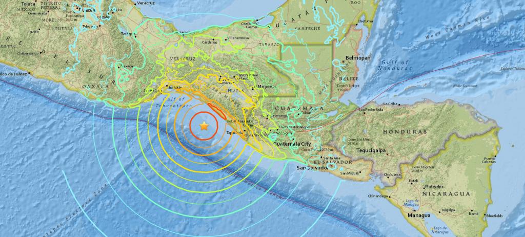 Потужний землетрус біля берегів Мексики: дев'ять країн під загрозою удару цунамі