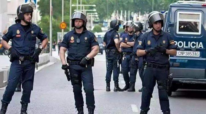 Испанская милиция вместе с марокканской обнаружили изадержали террористическую группировку
