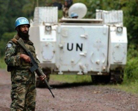 Тука озвучил количество миротворцев в Донбассе