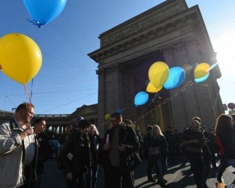 У Петербурзі сотні росіян  протестують проти війни з Україною (фото)