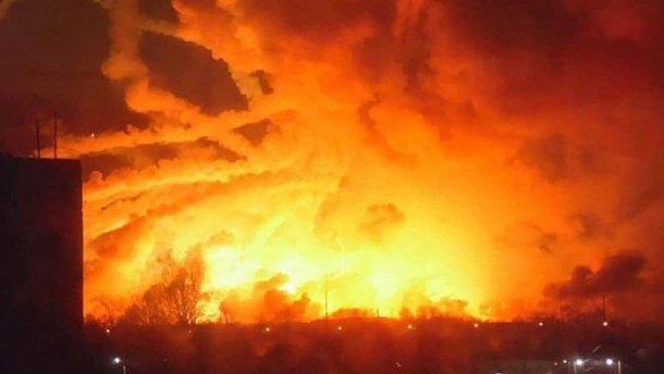 Правительство выделило 100 миллионов гривен для ликвидации последствий взрывов в Калиновке