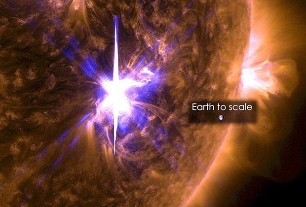 Три мощных взрыва на Солнце угрожают Земле