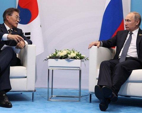 Президент Південної Кореї в розмові з Путіним запропонував варіанти санкцій проти КНДР