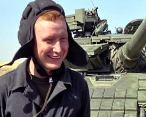 На Маріупольському напрямку відбулися змагання танкістів Нацгвардії (Відео)