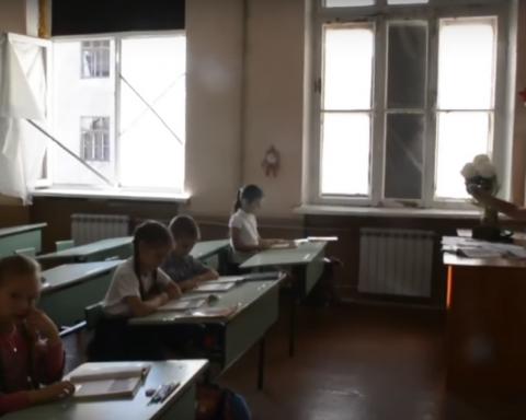 Завдяки бойовикам українським дітям доводиться навчатися у зоні АТО в жахливих умовах (відео)