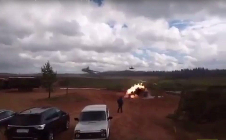 Нанавчаннях «Запад-2017» вертоліт влучив ракетами поцивільних