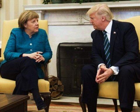 Трамп і Меркель обговорили ядерне випробування КНДР