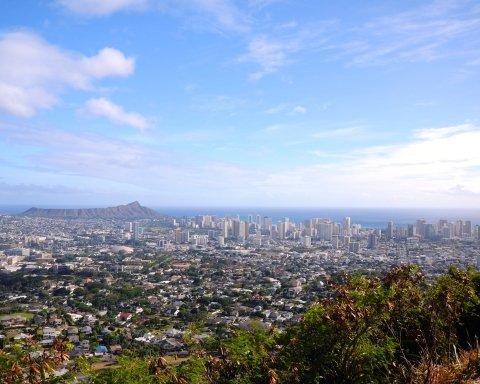 Гонолулу, Гаваї, США, острови, рай